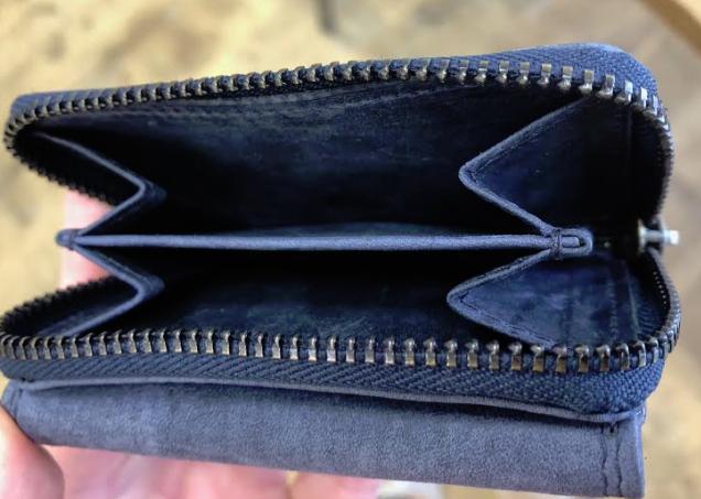 ミニ財布の小銭入れ部分