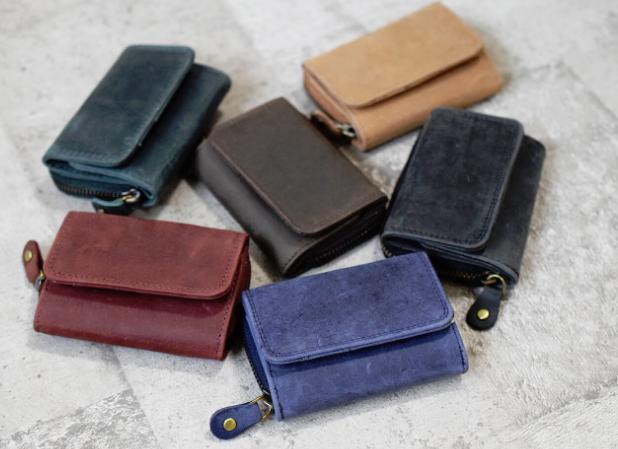 小銭入れ兼ミニ財布のカラーバリエーション
